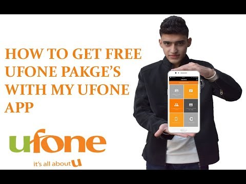How to get FREE Ufone package   with MY UFONE