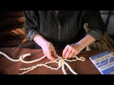 Rope Splicing Project from Barbara Merry