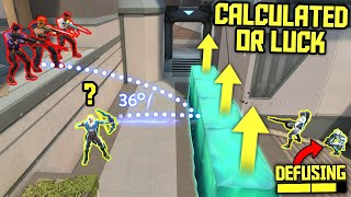 CALCULATED or LUCK? - VALORANT #5