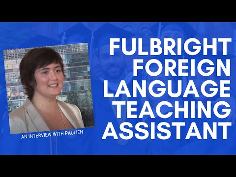 Teaching Dutch in the U.S. - Fulbright Language Teaching Assistant Paulien Detailleur
