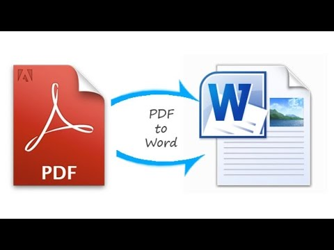 How To Convert PDF To Word Document Offline