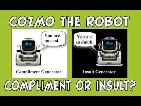 Cozmo the Robot | Compliment & Insult Generators | Episode #81 | #cozmoments