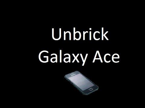 Unbrick Galaxy Ace S5830i & S5839i
