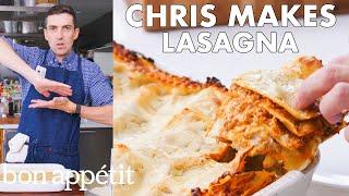 Chris Makes BA's Best Lasagna | From the Test Kitchen | Bon Appétit