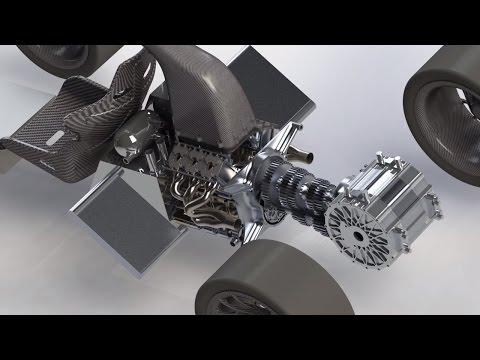 Solidworks 6 Speed Gearbox Design | Speed Art | SVA Design