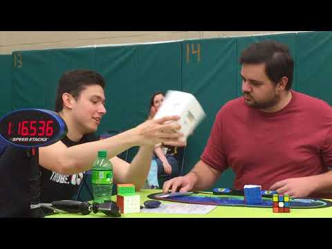 My First Cubing Competition - Eugene Spring 2018