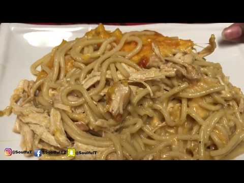 SoulfulT How To Make Spaghetti Chicken Casserole