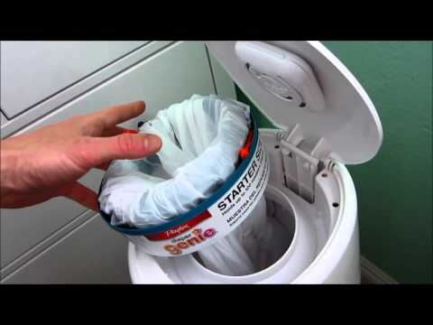 Diaper Genie hack: Use a trash bag to refill a Diaper Genie... and save money!