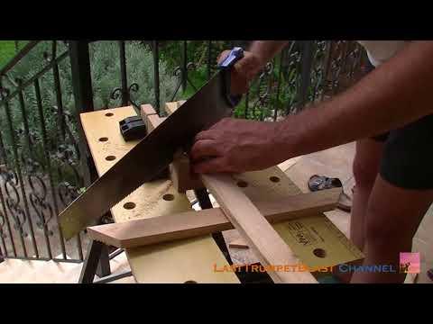 Making a mishqeleth (plumb line)