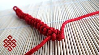 How to Make a Quick Deploy Zipper Sinnet Paracord Bracelet Tutorial