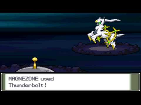 Pokémon Platinum - Capturing Arceus
