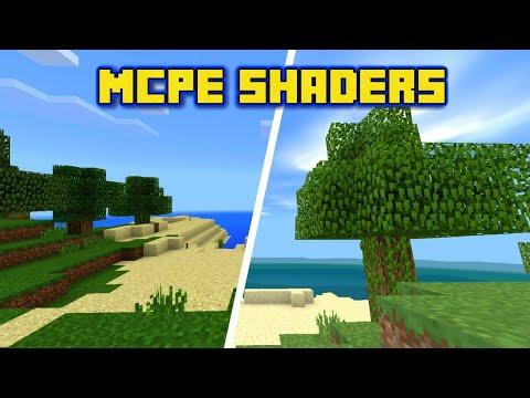 Best Mcpe Shader For low end devices // Minecraft Bedrock Edition