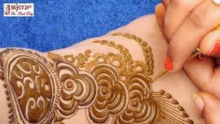 Beautiful Henna Mehndi Design For Legs : New Latest Mehndi Design for feet #169 @ jaipurthepinkcity