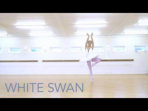 WHITE SWAN VARIATION FOR BEGINNERS - Swan Lake Ballet | natalie danza