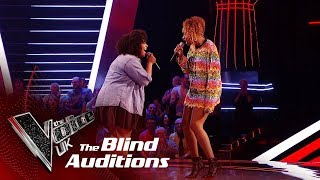 Jennifer Hudson & Nicole Dennis' 'And I Am Telling You' | Blind Auditions | The Voice UK 2019
