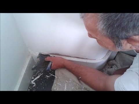Paint cracking and peeling off ceiling and walls