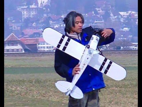 HobbyZone  Super Cub Take Off Rolls and Landings Flight Characteristics
