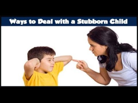 How to deal with Stubborn children (In Hindi) /Must Watch For Every Parent