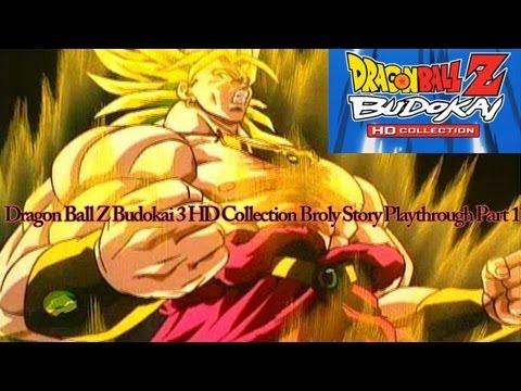 Dragon Ball Z Budokai 3 HD Collection Broly Story Playthrough Part 1