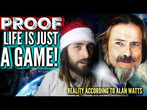 Is Life is a Game? (According to Alan Watts) *Human Reality Models Explained*