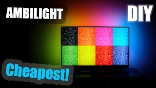Diy | Cheapest Ambilight For 47