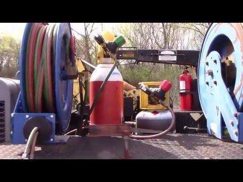 Oxy fuel welding rig set up (Build)