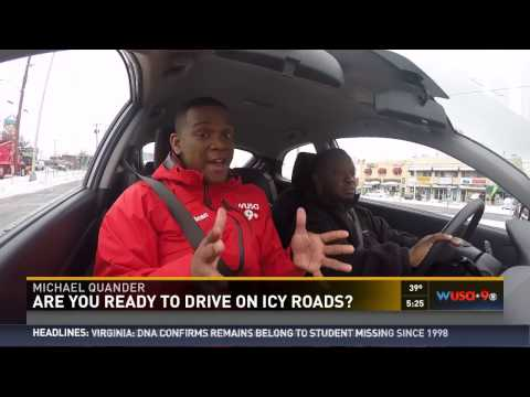 Tips for driving on black ice