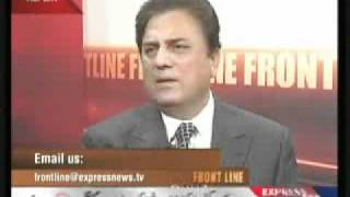 NAEEM BUKHARI LOOSE LANGUAGE ON EXPRESS FRONTLINE