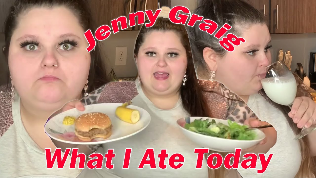 """Amberlynn Reid """"What I Ate Today"""" Compilation   Part 9"""