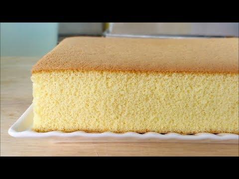 Honey Castella (Kasutera)Cake (蜂蜜蛋糕) **
