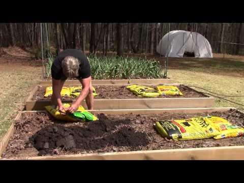 Spring Garden Raised Bed Preparation