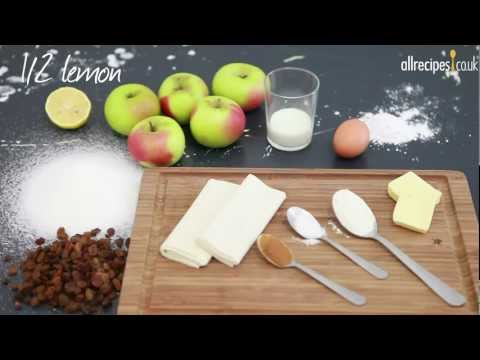 How to make easy apple strudel video - Allrecipes.co.uk