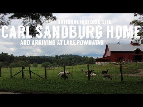 Carl Sandburg Home National Historic Site | Lake Powhatan Campground | Wandering Around In Wonder