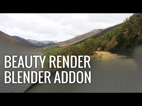 Beauty Render - Blender Addon: Realistic Results in a Breeze (April's Fools Joke)