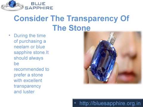 Tips To Remember While buying Blue Sapphire Stone