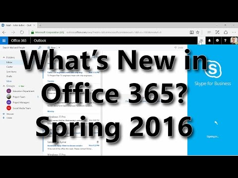 Office 365 Evolution May 2016