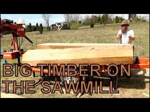 THE BIGGEST LOG TO DATE ON MY SAWMILL, QUARTER SAWING WHITE OAK TIMBER,