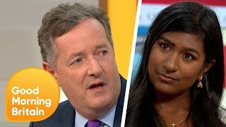 Piers Gets Into a Fiery Debate Over Trump