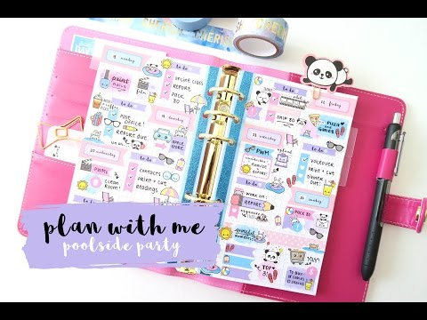 Plan With Me - Poolside Party
