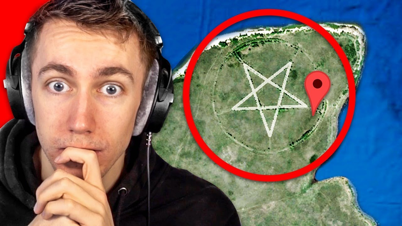 WEIRDEST Things Found on Google Earth