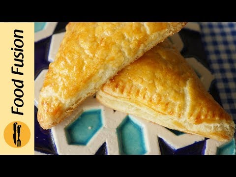 Egg & Cheese (Patties) Puff Triangles Recipe By Food Fusion