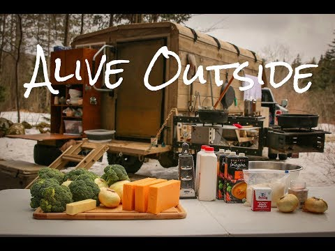 Homemade Camper Trailer- Kitchen Edition