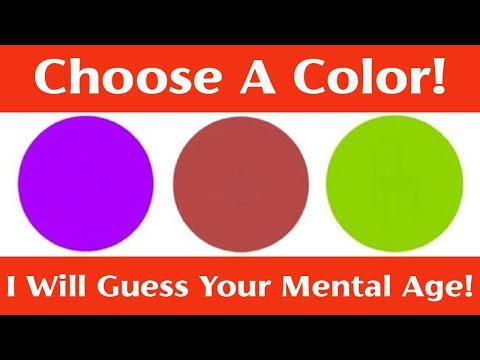 This Color Test Can Tell Your Mental Age!