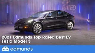 2020 Tesla Model 3: Edmunds Top Rated EV | Edmunds Top Rated Awards 2021