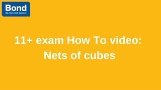 11+ exam: Non-verbal Reasoning – nets of cubes | Bond 11+