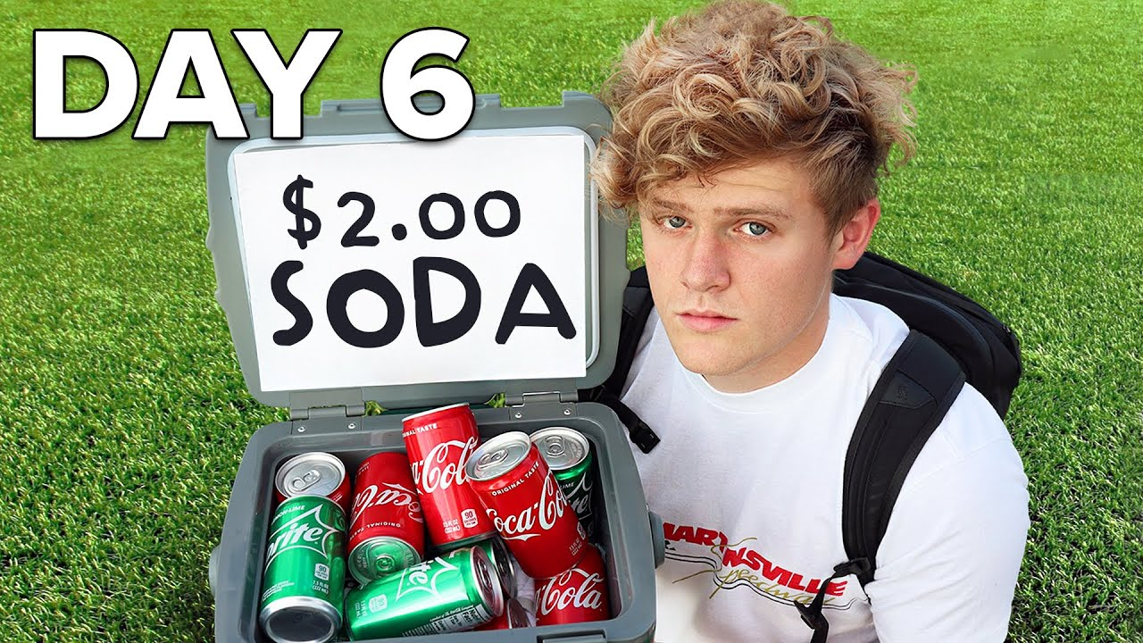 I Survived On $0.01 For 7 Days - Day 6