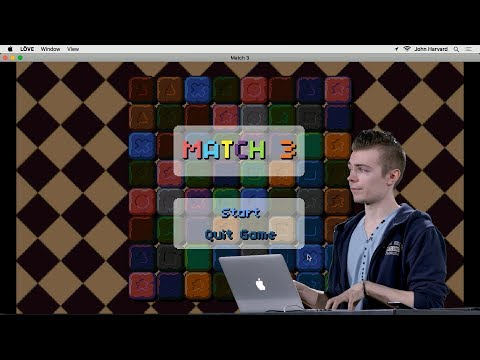 Match 3 - Lecture 3 - CS50's Introduction to Game Development