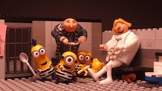 Minions in Prison - Despicable Me 3 - Stop Motion