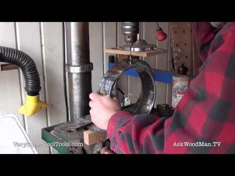 898. DIY Welding Cart –Making The Gas Bottle Holders