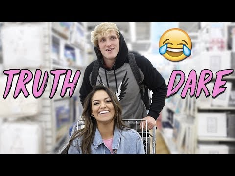 TRUTH or DARE in Public! ft. Logan Paul